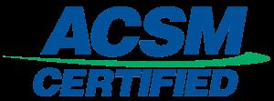 ACSM Certified